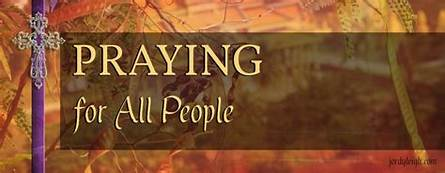 Let's Pray for All