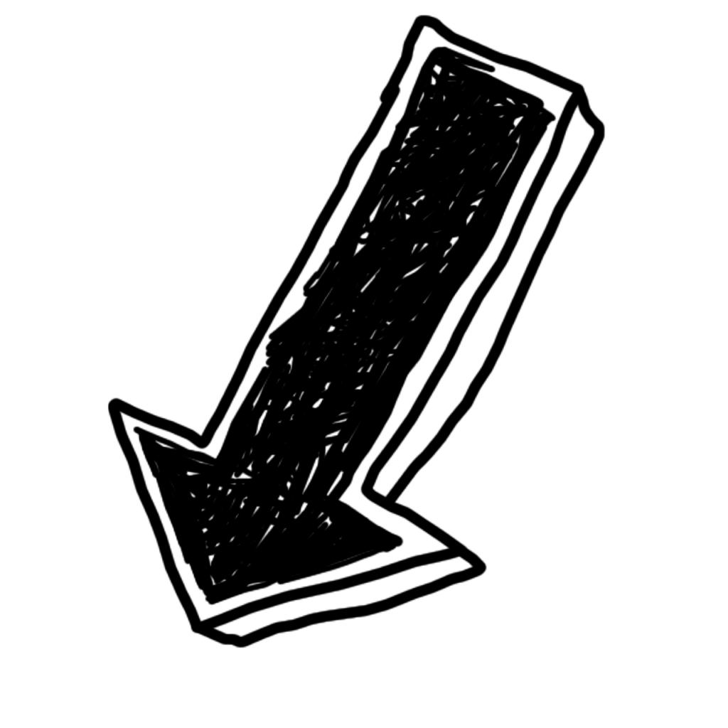 arrow, down, doodle-1435215.jpg